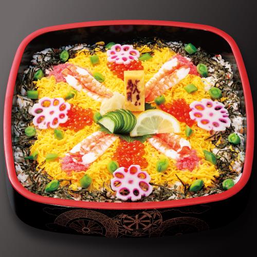 昔ながらのちらし寿司